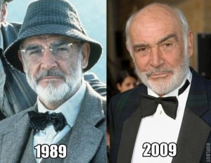 sean connery is a lizard person - he doesn't age