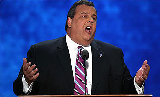 Chris Christie Lizard Person